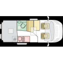ADRIA TWIN AXESS 540 SP -2022