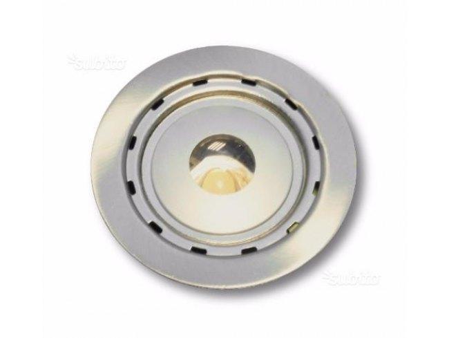Faretto da incasso a led luce calda 1 watt dimatec