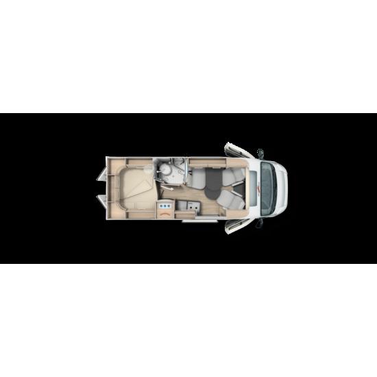 MALIBU VAN CHARMING GT SKYVIEW 600 DB - 2021