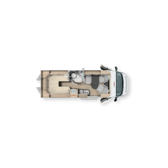 MALIBU VAN CHARMING COUPÉ 640 LE - 2021 - CAMBIO AUTOMATICO