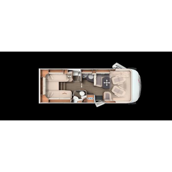 CARTHAGO C-TOURER I 144 LE - 2021 - CAMBIO AUTOMATICO