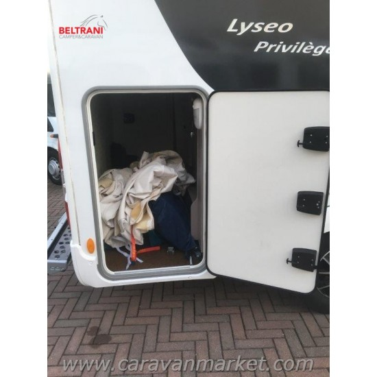 BURSTNER LYSEO PRIVILEGE TD 680 - CON PORTA MOTO - ANNO 2019