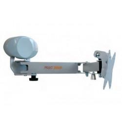 BRACCIO PORTA TV LCD A 3 SNODI PROJECT 2000