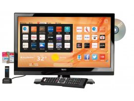TV TELECO PER CAMPER TVS 20 POLLICI SMART TV CON DVD E RICEVITORE SATELLITARE