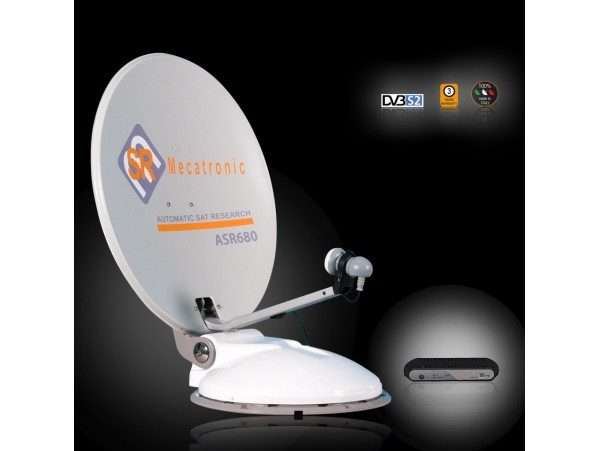 ANTENNA SATELLITARE ASR 680 1P