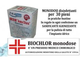 SISTEMA DI DEPURAZIONE BIOCHLOR BUSTINE MONODOSE