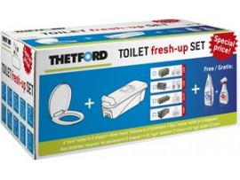 KIT FRESH UP PER TOILETTE C2 C3 C4