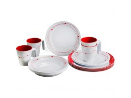 SET PIATTI IN MELAMINA COSMIC
