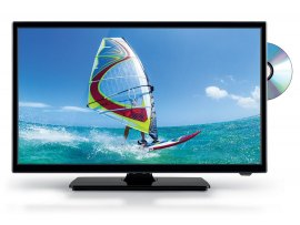 TV LED HEVC 20 POLLICI CON DVD INTEGRATO TELESYSTEM