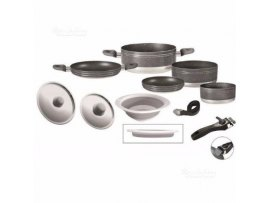 SET PENTOLE BRUNNER GOURMET ROCK 9+1