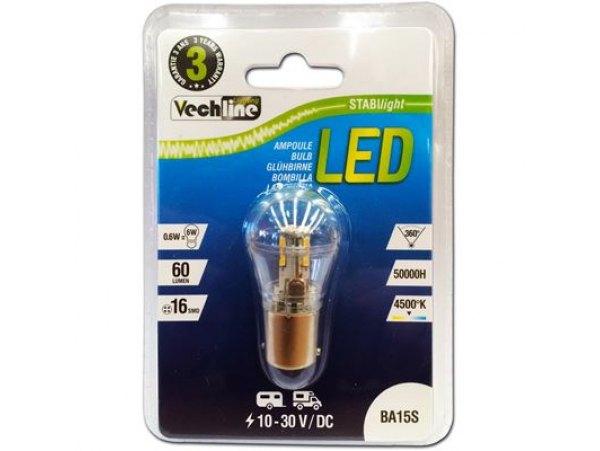 LAMPADINA A LED ATTACCO BA15S