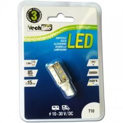 LAMPADINA A LED ATTACCO T10