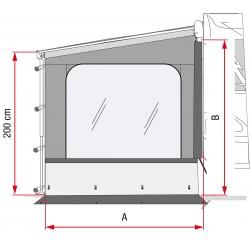 PARETE LATERALE FIAMMA - SIDE W PRO F45/F65