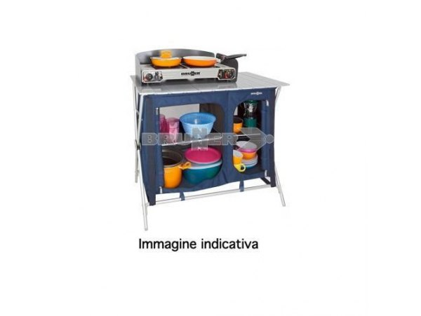 MOBILETTO CUCINA BRUNNER MOD. MERCURY CROSS COOKER